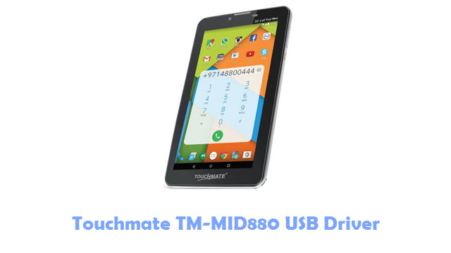 Download Touchmate TM-MID880 USB Driver