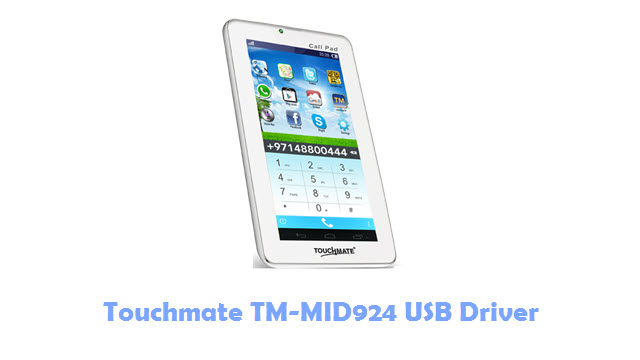 Download Touchmate TM-MID924 USB Driver
