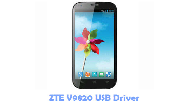 Download ZTE V9820 USB Driver