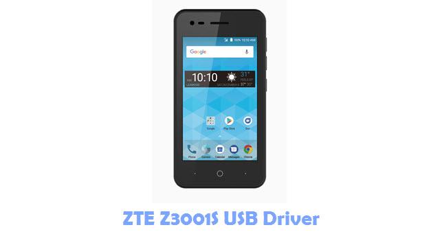 Download ZTE Z3001S USB Driver