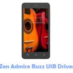 Zen Admire Buzz USB Driver