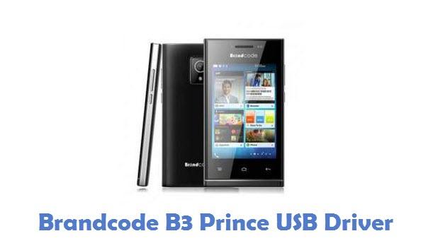 Brandcode B3 Prince USB Driver