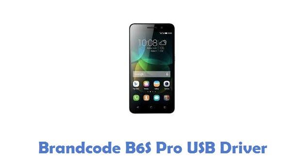 Brandcode B6S Pro USB Driver