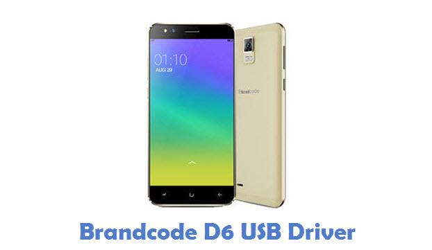 Brandcode D6 USB Driver