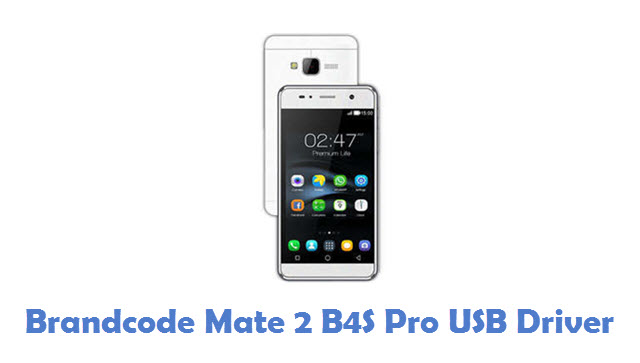 Brandcode Mate 2 B4S Pro USB Driver