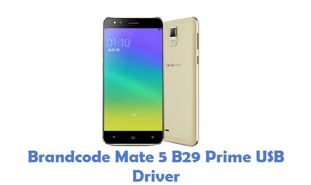 Brandcode Mate 5 B29 Prime USB Driver