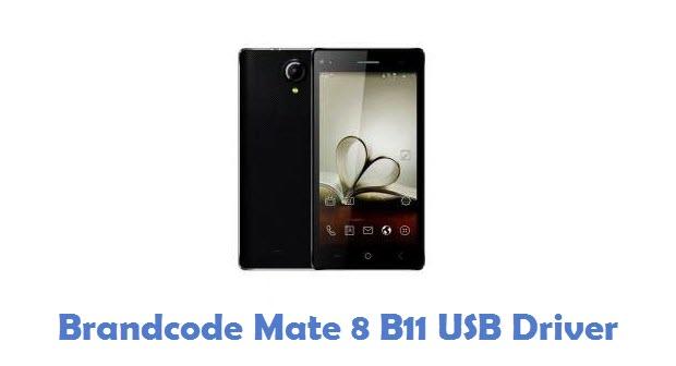 Brandcode Mate 8 B11 USB Driver