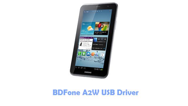 BDFone A2W USB Driver