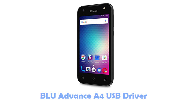 BLU Advance A4 USB Driver