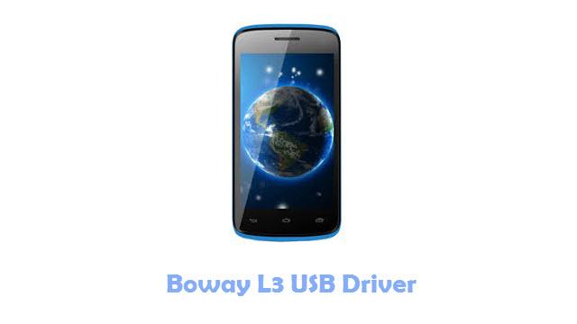 Boway L3 USB Driver