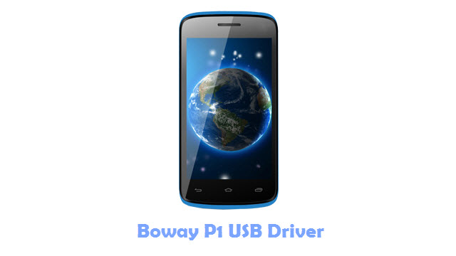 Download Boway P1 USB Driver