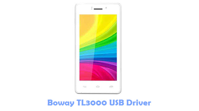 Download Boway TL3000 USB Driver