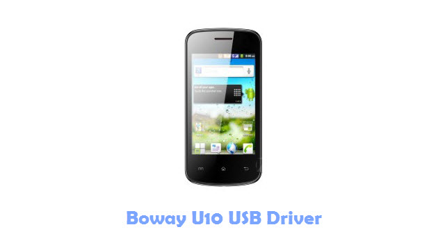 Download Boway U10 USB Driver