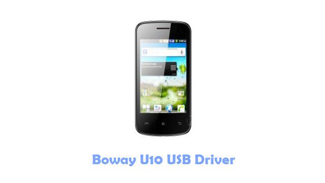 Boway U10 USB Driver