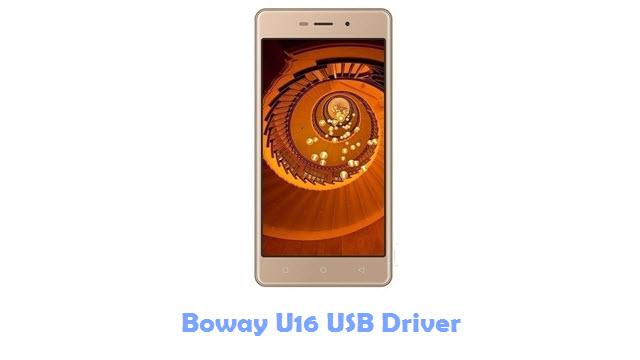 Boway U16 USB Driver
