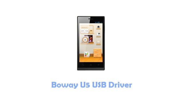 Boway U5 USB Driver