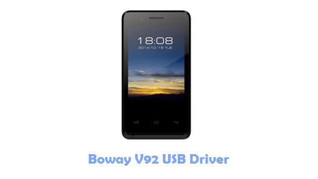Download Boway V92 USB Driver
