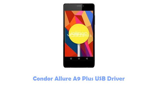 Download Condor Allure A9 Plus USB Driver