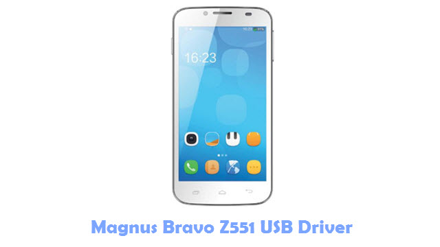 Download Magnus Bravo Z551 USB Driver
