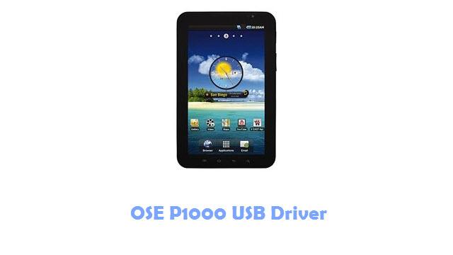OSE P1000 USB Driver