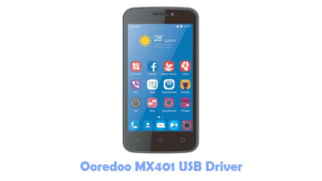 Ooredoo MX401 USB Driver