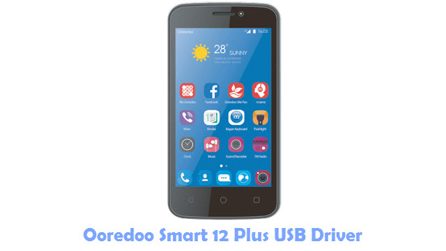 Ooredoo Smart 12 Plus USB Driver
