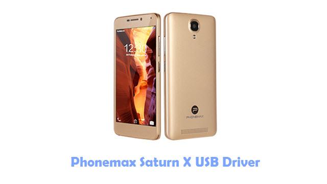 Download Phonemax Saturn X USB Driver