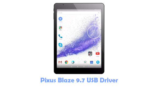 Pixus Blaze 9.7 USB Driver