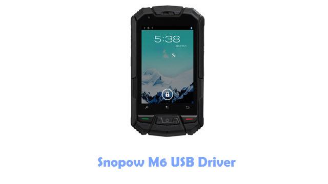 Snopow M6 USB Driver