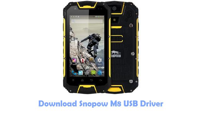 Download Snopow M8 USB Driver