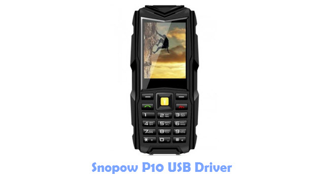 Snopow P10 USB Driver