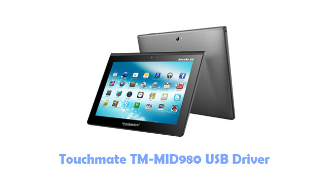 Download Touchmate TM-MID980 USB Driver