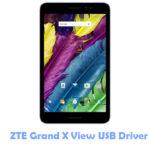 ZTE Grand X View USB Driver