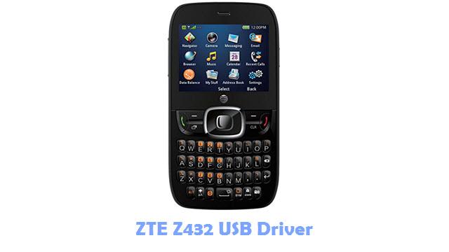Download ZTE Z432 USB Driver