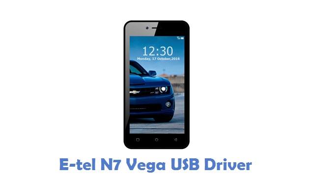 E-tel N7 Vega USB Driver