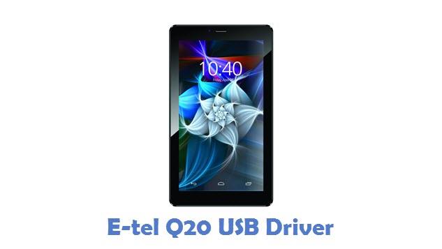 E-tel Q20 USB Driver