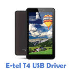 E-tel T4 USB Driver