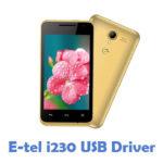 E-tel i230 USB Driver