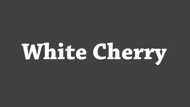 White Cherry USB Drivers