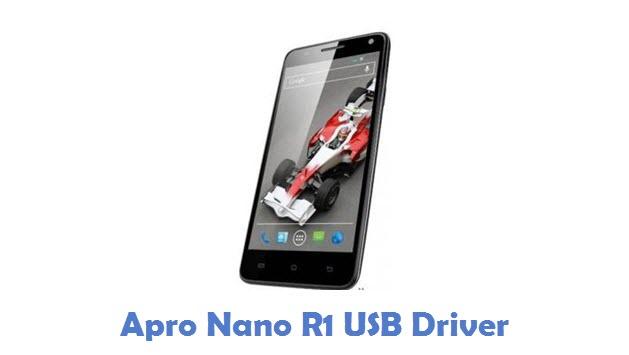 Apro Nano R1 USB Driver