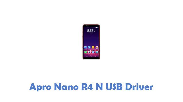 Apro Nano R4 N USB Driver