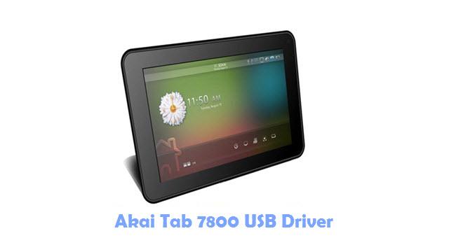 Download Akai Tab 7800 USB Driver