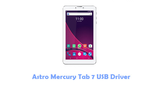 Astro Mercury Tab 7 USB Driver