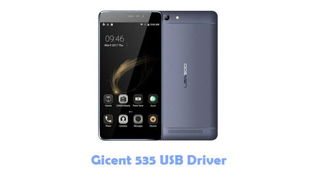 Gicent 535 USB Driver