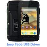 Download Jeep F605 USB Driver