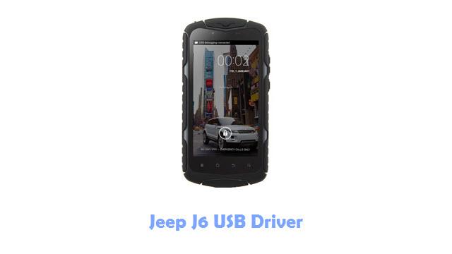 Jeep J6 USB Driver
