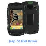 Download Jeep Z6 USB Driver