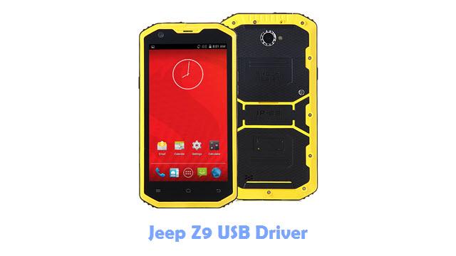 Jeep Z9 USB Driver