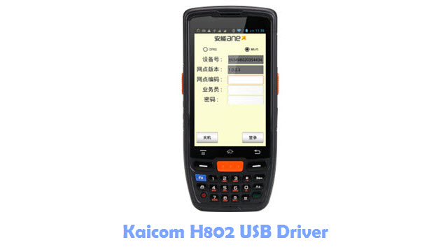 Download Kaicom H802 USB Driver