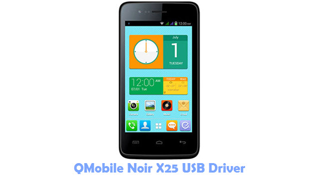 Download QMobile Noir X25 USB Driver